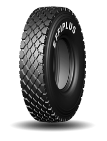 Big Foot Design Size Effiplus Tread Width Regular Tread Width 12.00R20 245mm 238mm Shoulder Rib Design Shoulder tread protection; Prevent pattern blocks chunking; Reduce irregular wear Dual Step Design The zigzag design protects the groove